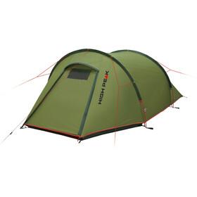 High Peak Kite 2 LW Tent pesto/red